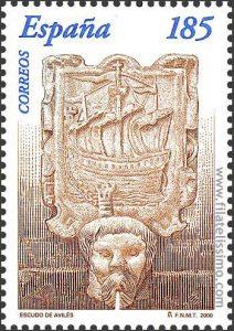 fuente-canos-san-francisco-en-sello-de-espana