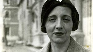 María Zambrano en 1933.