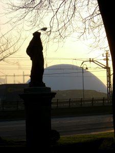 3 de febrero de 2009 cuando de repente apareció el Niemeyer.