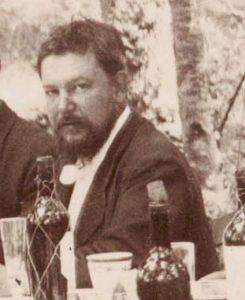 Sorolla (1863-1923) en un comida campestre en Muros de Nalón.