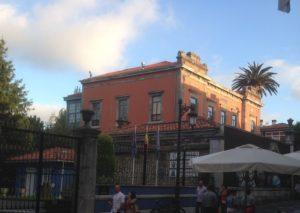 Palacete en la calle Galiana.