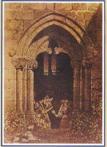 Capilla de la familia de Las Alas en Avilés (Dibujo de Paracelso)