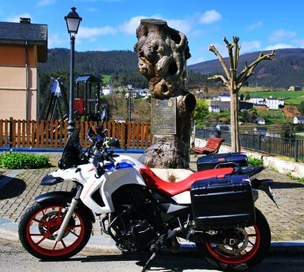 Ruta motera de los Pueblos Ejemplares del noroccidente asturiano(San Tirso de Abres)