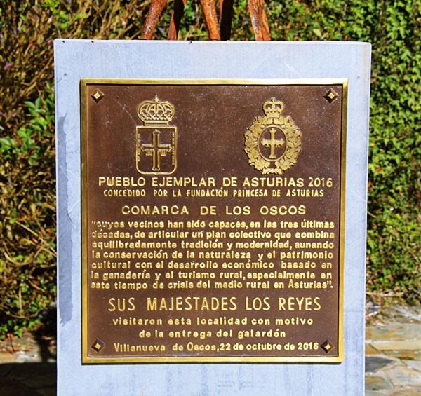 Ruta motera de los Pueblos Ejemplares del noroccidente asturiano(Villanueva de Oscos/Vilanova)