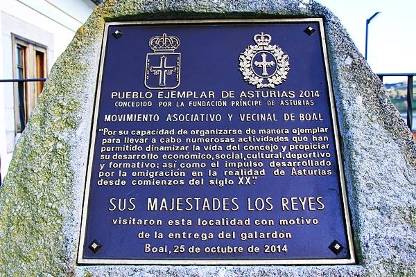 Ruta motera de los Pueblos Ejemplares del noroccidente asturiano(Boal/Bual)