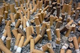 contaminacion y tabaco