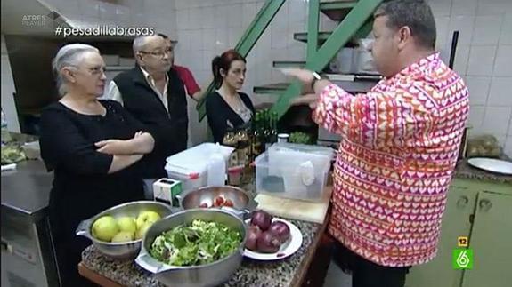 Soy teleadicto y qu for Pesadilla en la cocina brasas
